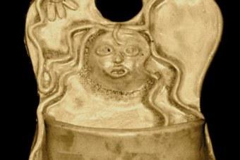 1986-Wandgefaess-Keramik-H28cm-v