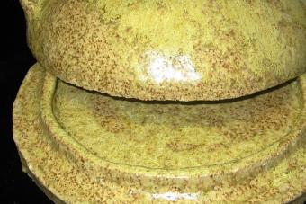 1992-Käseglocke-Keramik-D23cm