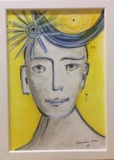 2016 Dezember Pastell auf Papier 20x30cm