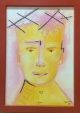 2016 Juli Pastell auf Papier 20x30cm