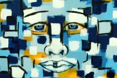 Malerei: Sieben Gesichter