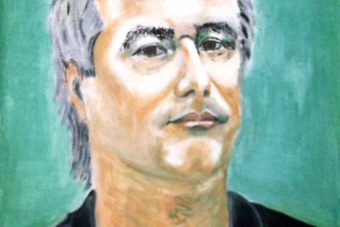 2004 Alexander Hüther Tempera auf Leinwand 40x50cm