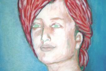 2006 Tina I Tempera auf Leinwand 40x50cm