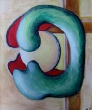 2002-Aufnahme-der-inneren-Sonne-Tempera-auf-Leinwand-50x60cm