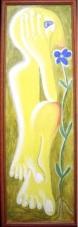 2002-Blumenriecher-Tempera-auf-Holz-41x131cm