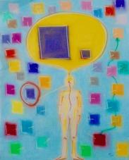 2017 Denk Bild I Pastell auf Papier 40x50cm