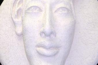 2005 Echnaton III Keramik H49cm