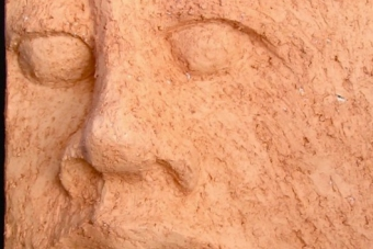 2004 Einzelgaenger I Keramik H18cm