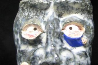 1992 Mephisto Keramik H31cm
