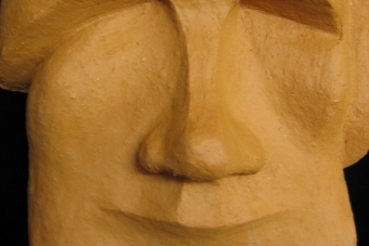 2005 Moai Keramik H16cm