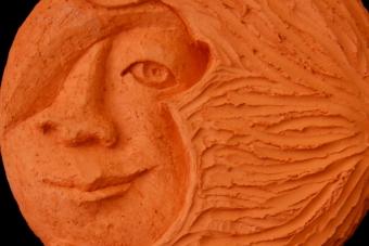 2011 Naturmutter Keramik H24cm