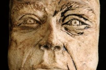 1992 Peter der Erste Keramik H23cm
