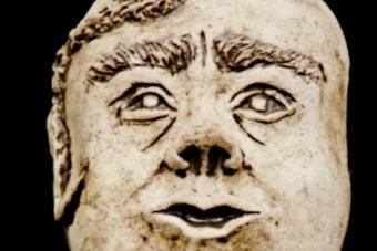 1992 Resi von der Alm Keramik H24cm