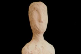 2000 Achsoistdas Keramik H37cm verkauft