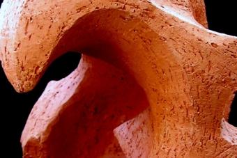 1996 Schmerz I Keramik H28cm