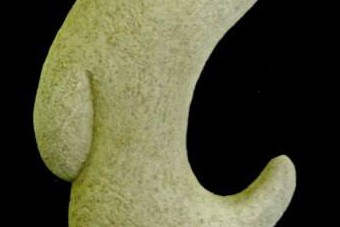 2001 Stummer Vogel Keramik H60cm verkauft