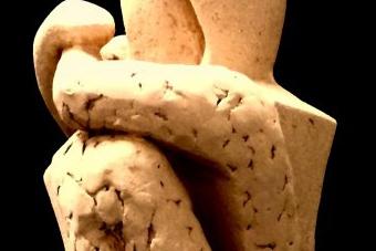 2015 Zusammen und doch getrennt Keramik H50cm verkauft