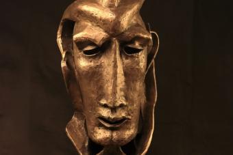 2020 Luzifer Bronze H75cm