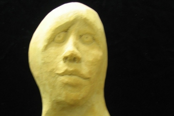 2004 Behindert Keramik H39cm