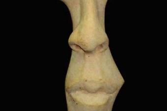 2001 DER dessen Blick man veraendern kann Keramik H57cm