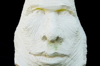 2011 Homo Neandertalensis Keramik H39cm