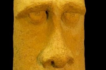2005 Moai Keramik H46cm