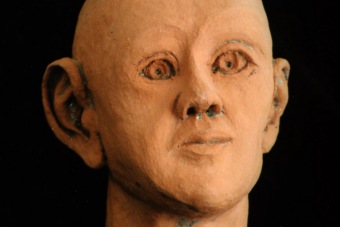 1995 Mona Lisa der Neuzeit Keramik H33cm