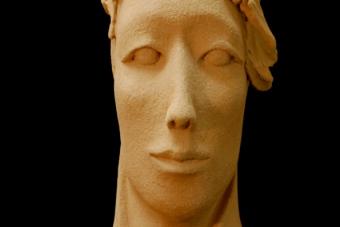 2013 Neue Maria Keramik H53cm