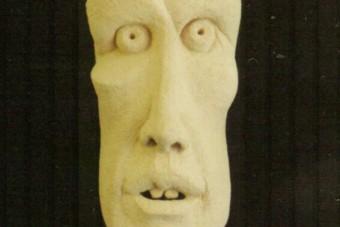 1999 Rinderwahn Keramik H64cm