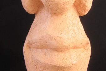2005 Taubblind Keramik H51cm