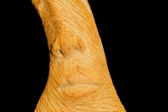 2011 Zwergenmuetze Keramik H54cm